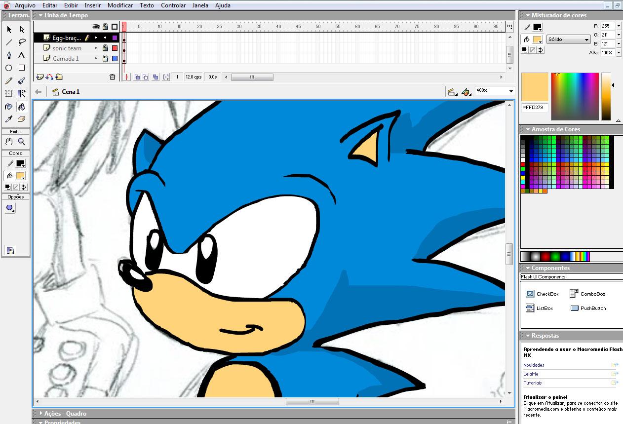 Flash мультфильм как сделать